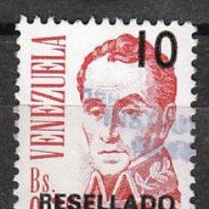 Sellos: VENEZUELA, BOLIVAR, USADO. Lote 23554422