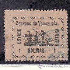 Sellos: VENEZUELA 91 USADA, BARCO, VAPOR -BANRIGH-, 1 DIENTE ROMO, . Lote 23788476