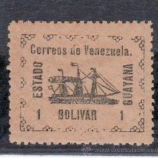 Sellos: VENEZUELA 91 CON CHARNELA, BARCO, VAPOR -BANRIGH-,. Lote 23788497