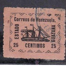Sellos: VENEZUELA 89 USADA, BARCO, VAPOR -BANRIGH-, . Lote 23788519