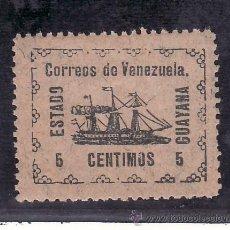 Sellos: VENEZUELA 87 CON CHARNELA, BARCO, VAPOR -BANRIGH-, . Lote 23788599