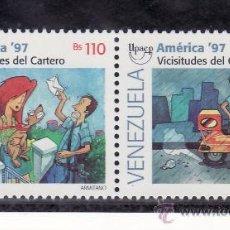 Sellos: VENEZUELA 1928/9 SIN CHARNELA, TEMA UPAEP, EL CARTERO, . Lote 24260955