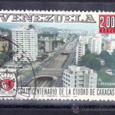 Sellos: VENEZUELA A 922 USADA, IV CENTENARIO DE LA CIUDAD DE CARACAS. Lote 45219828