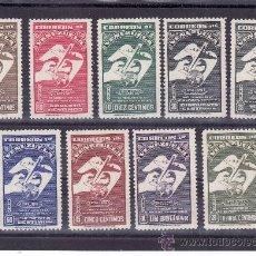 Sellos: VENEZUELA A 278/86 CON CHARNELA, U.P.U., 75º ANIVERSARIO DE LA UNION POSTAL UNIVERSAL. Lote 57826004