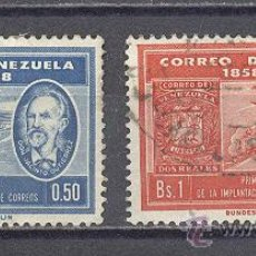 Sellos: VENEZUELA , DOS SELLOS USADOS. Lote 27970065