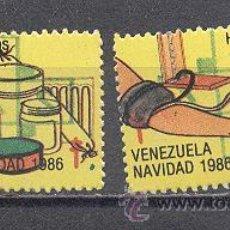 Sellos: VENEZUELA , DOS SELLOS. Lote 27970087