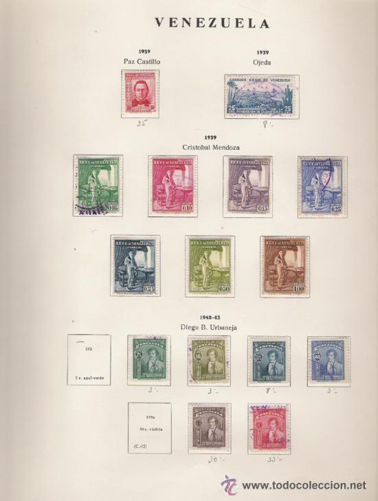 Sellos: GRAN COLECCION DE VENEZUELA MATASELLADA 1859/1963 ALTISIMO VALOR DE CATALOGO - Foto 7 - 30270791