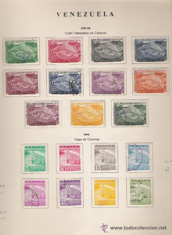 Sellos: GRAN COLECCION DE VENEZUELA MATASELLADA 1859/1963 ALTISIMO VALOR DE CATALOGO - Foto 9 - 30270791