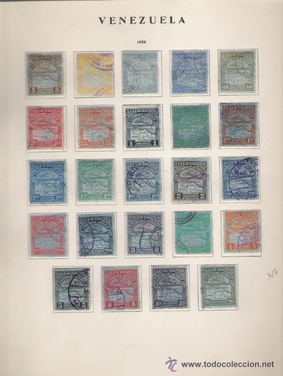 Sellos: GRAN COLECCION DE VENEZUELA MATASELLADA 1859/1963 ALTISIMO VALOR DE CATALOGO - Foto 10 - 30270791