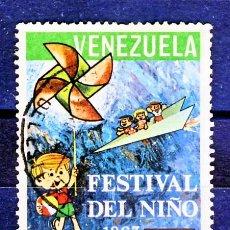 Sellos: VENEZUELA.- FESTIVAL DEL NIÑO 1967.-. Lote 30879994