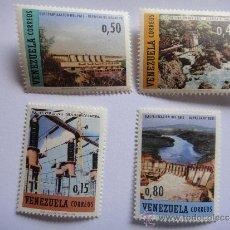 Sellos: VENEZUELA ELECTRIFICACIÓN DEL PAIS Nº YVERT 761/64. Lote 34972947