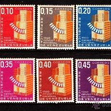 Sellos: VENEZUELA 633A/36B** - AÑO 1961 - CENSO NACIONAL DE POBLACIÓN. Lote 39336575