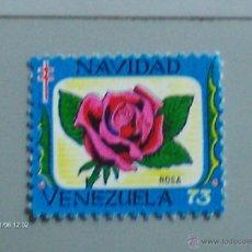 Sellos: NAVIDAD DE 73 ROSA VENEZUELA. Lote 39855576