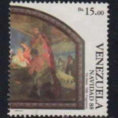Sellos: VENEZUELA. YVERT Nº 1440 USADO Y DEFECTUOSO. Lote 40209474