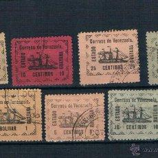 Sellos: VENEZUELA 87/91.-92-93. VALOR 318. Lote 45569883