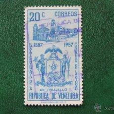 Timbres: VENEZUELA 1958, IV CENT. FUNDACION DE TRUJILLO, YVERT 582 . Lote 45674076