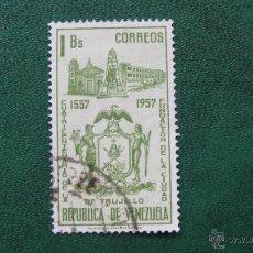 Timbres: VENEZUELA 1958, IV CENT. FUNDACION DE TRUJILLO, YVERT 588. Lote 45674118