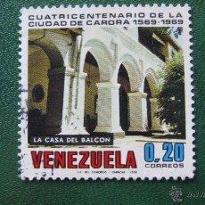 Sellos: VENEZUELA 1969, IV CENT. CIUDAD DE CARORA, YVERT 789. Lote 45877495