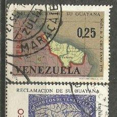 Sellos: VENEZUELA CORREO AEREO YVERT NUM. 863/5 SERIE COMPLETA. Lote 45888407