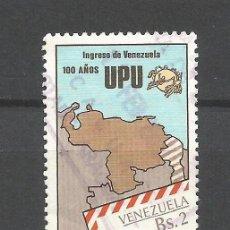 Sellos: VENEZUELA YVERT NUM. 1090 SERIE COMPLETA USADA. Lote 46906004