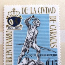 Sellos: SELLOS VENEZUELA 1967. USADO. IV CENTENARIO CIUDAD CARACAS.. Lote 47637437