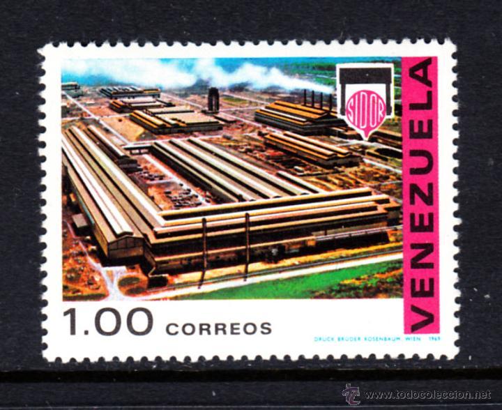 VENEZUELA 787** - AÑO 1969 - DESARROLLO INDUSTRIAL (Sellos - Extranjero - América - Venezuela)