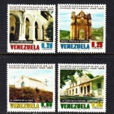 Sellos: VENEZUELA 789/92* - AÑO 1969 - 4º CENTENARIO DE LA CIUDAD DE CARORA. Lote 49104020
