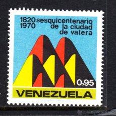 Sellos: VENEZUELA 805* - AÑO 1970 - 150º ANIVERSARIO DE LA CIUDAD DE VALERA. Lote 49104051