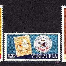 Sellos: VENEZUELA 817/19* - AÑO 1970 - 2º EXPOSICION FILATELICA INTERAMERICANA EXFILCA 70. Lote 49611481
