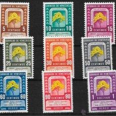 Sellos: VENEZUELA YVERT Nº AV. 287/95 *. Lote 51581230