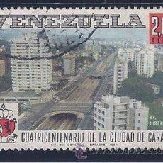 Sellos: VENEZUELA A-922. CUATRICENTENARIO DE LA CIUDAD DE CARACAS 1967. Lote 51713920