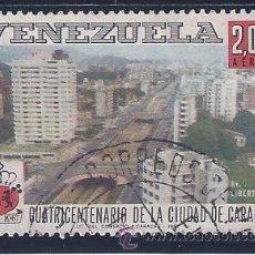 Sellos: VENEZUELA A-922. CUATRICENTENARIO DE LA CIUDAD DE CARACAS 1967. Lote 55307786