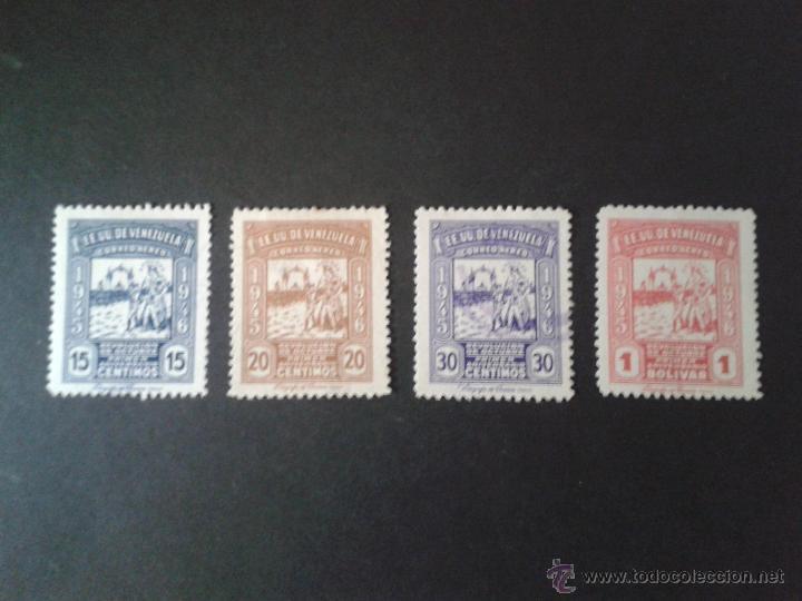 SELLOS VENEZUELA. YVERT A 214/7. SERIE USADA. (Sellos - Extranjero - América - Venezuela)