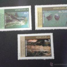 Sellos: SELLOS VENEZUELA YVERT 1099/101.SERIE NUEVA SIN CHARNELA. CIENCIAS NATURALES.. Lote 52008835