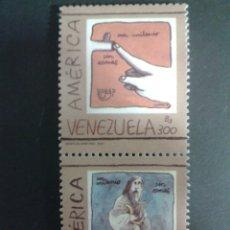 Sellos: SELLOS DE VENEZUELA. AMÉRICA UPAEP. YVERT 2169AG/AH. SERIE COMPLETA NUEVA SIN CHARNELA.. Lote 52950836