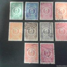 Sellos: SELLOS DE VENEZUELA YVERT 527/30 + A 584/9 SERIE COMPLETA USADA.. Lote 52974023