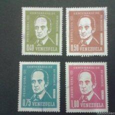 Sellos: SELLOS DE VENEZUELA YVERT 694/5 + A 805/6. SERIE COMPLETA USADA.. Lote 52990098