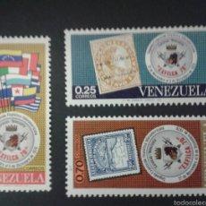 Sellos: SELLOS DE VENEZUELA YVERT 817/19. SERIE COMPLETA NUEVA SIN CHARNELA.. Lote 52990148