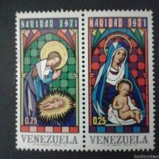 Sellos: SELLOS DE VENEZUELA. NAVIDAD. YVERT 877/8. SERIE COMPLETA NUEVA SIN CHARNELA.. Lote 52990163