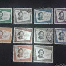 Sellos: SELLOS DE VENEZUELA YVERT 615/18 + A 708/12 SERIE COMPLETA USADA.. Lote 52990408