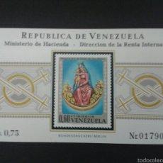 Sellos: SELLOS DE VENEZUELA. YVERT HB 18. SERIE COMPLETA NUEVA SIN CHARNELA.. Lote 53039935