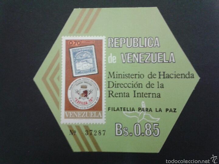 SELLOS DE VENEZUELA. YVERT HB 19. SERIE COMPLETA NUEVA SIN CHARNELA. (Sellos - Extranjero - América - Venezuela)