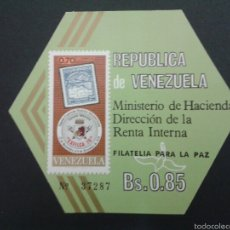 Sellos: SELLOS DE VENEZUELA. YVERT HB 19. SERIE COMPLETA NUEVA SIN CHARNELA.. Lote 53039947