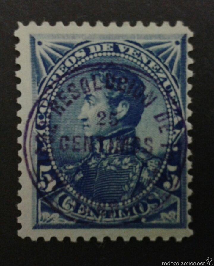 SELLOS DE VENEZUELA. YVERT 39 USADO. (Sellos - Extranjero - América - Venezuela)