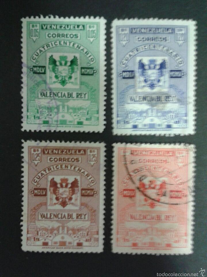 SELLOS DE VENEZUELA. YVERT 523/6. SERIE COMPLETA USADA. (Sellos - Extranjero - América - Venezuela)