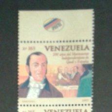 Sellos: SELLOS DE VENEZUELA. YVERT 1903/7. SERIE COMPLETA NUEVA SIN CHARNELA.. Lote 54137049