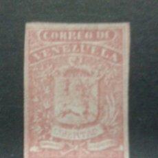 Sellos: SELLO DE VENEZUELA. YVERT 3. SELLO SIN GOMA CON ALGÚN MARGEN JUSTO.. Lote 54380464