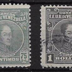 Sellos: VENEZUELA YVERT Nº 142-143 USADOS. Lote 56610126