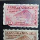 Sellos: 1951 - VENEZUELA - III JUEGOS DEPORTIVOS BOLIVARIANOS (USADOS, SEÑAL CHARNELA). Lote 56727815