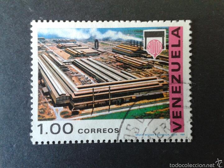 SELLOS DE VENEZUELA. YVERT 787. SERIE COMPLETA USADA. (Sellos - Extranjero - América - Venezuela)